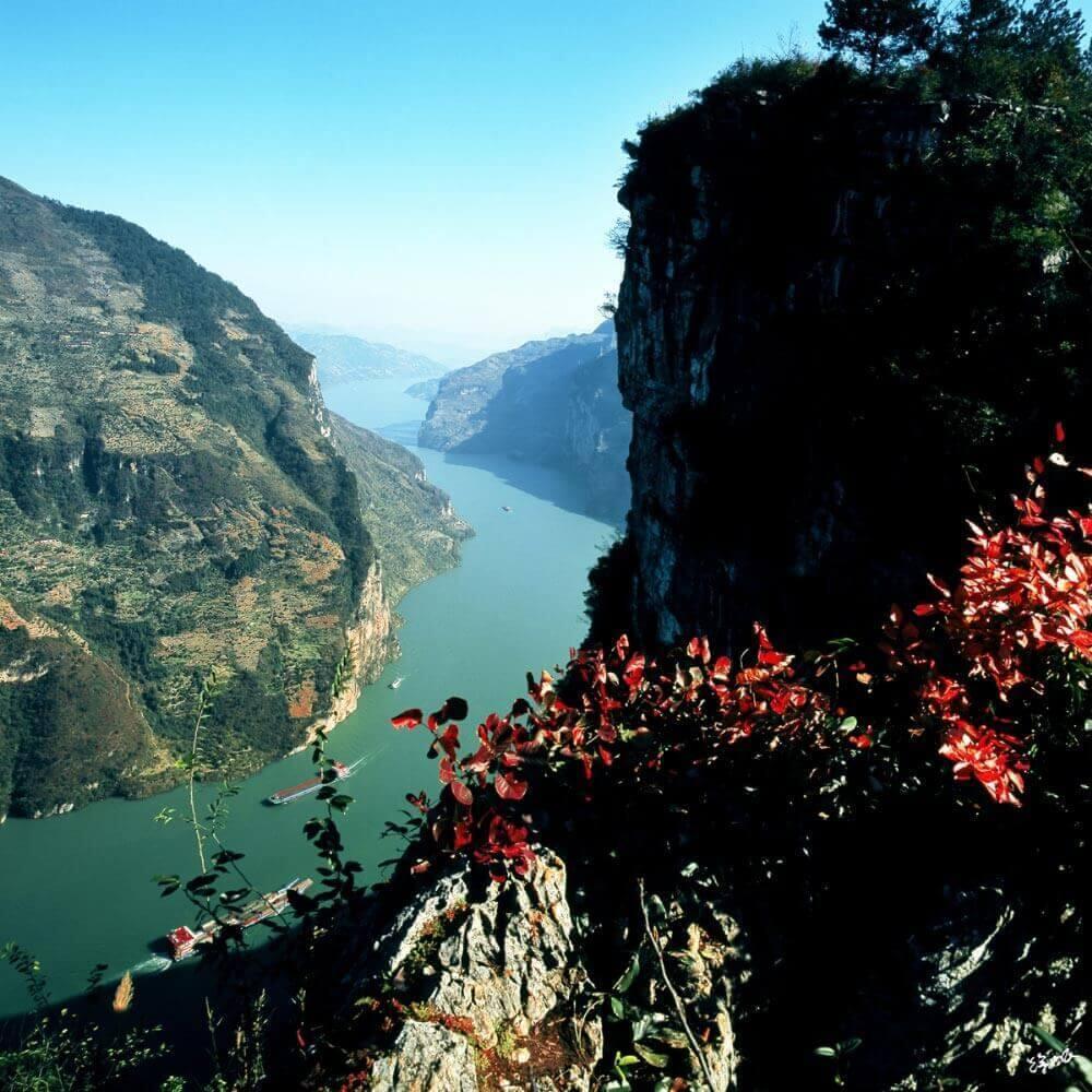 长江三峡西陵峡口风景区